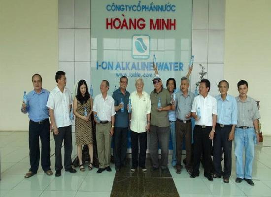 Nhà máy sản xuất nước ion life Hoàng Minh tại Long An