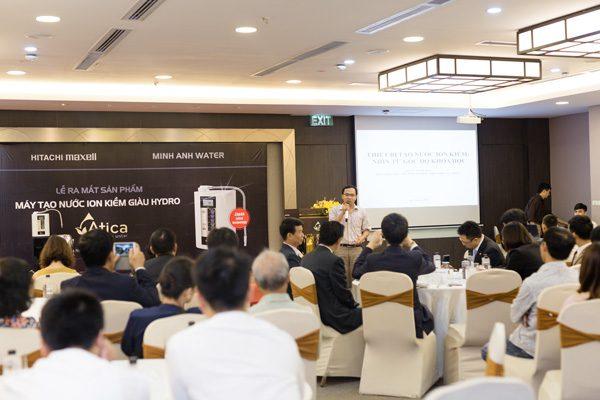 Báo chí nói gì về nước ion kiềm giàu hydro và nhà phân phối chính hãng Minh Anh Water tại thị trường máy lọc nước