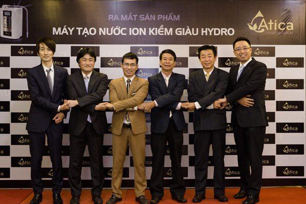 Đội ngũ nhân viên cấp cao Minh Anh Water