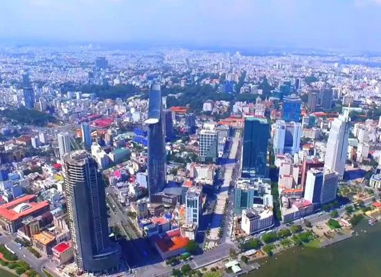 Mật độ dân cư đông đúc tại TP Hồ Chí Minh