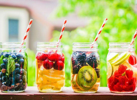 Đồ uống giải nhiệt mùa hè, thanh lọc cơ thể