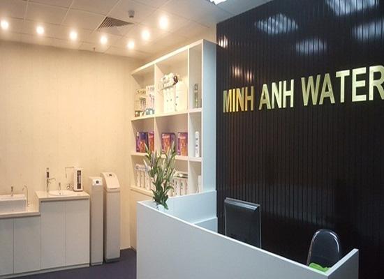 Showroom máy lọc nước Minh Anh