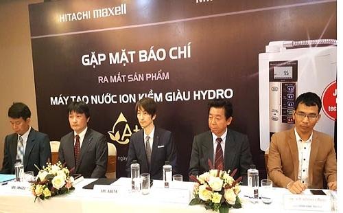 Máy lọc nước ion kiềm giàu Hydro bảo vệ sức khỏe người Việt