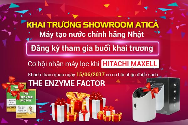 Khai trương showroom ATICA HCM