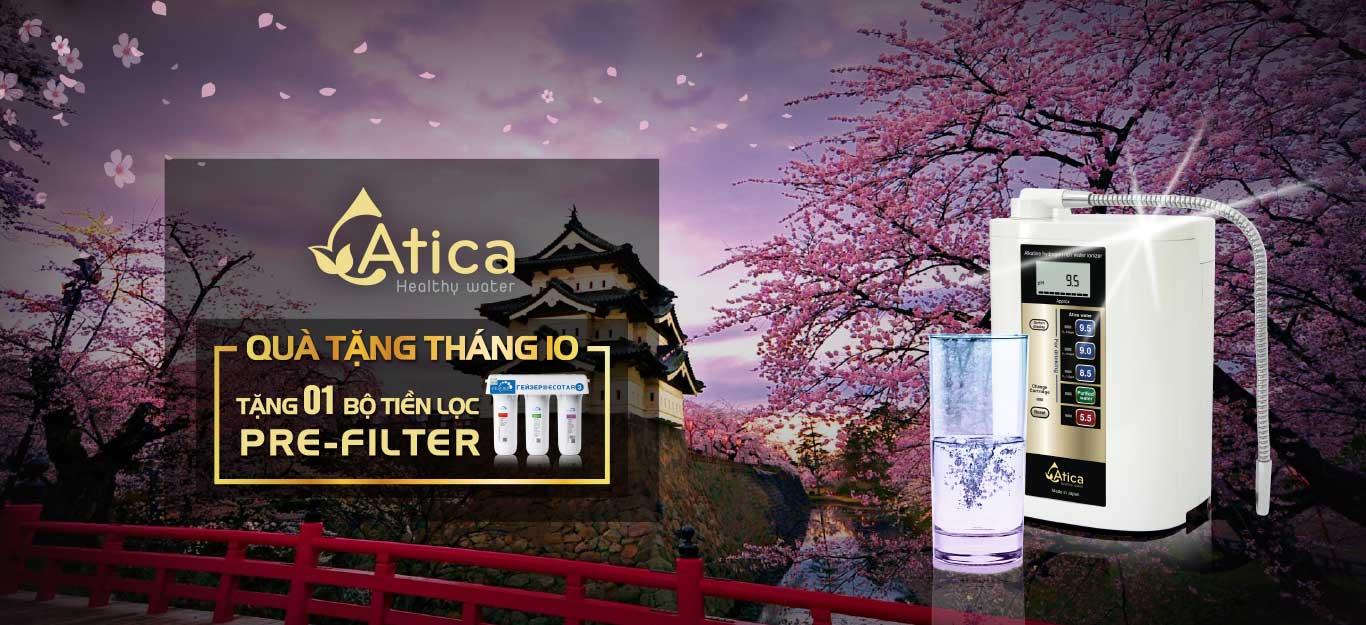 Chương trình khuyến mại tháng 10 Atica