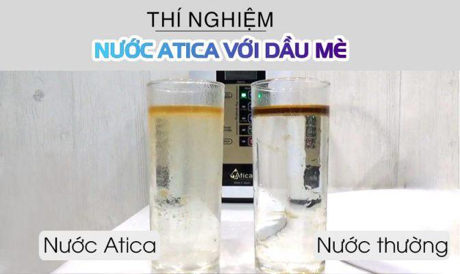 Lợi ích nước Atica trong việc điều trị bệnh mỡ máu