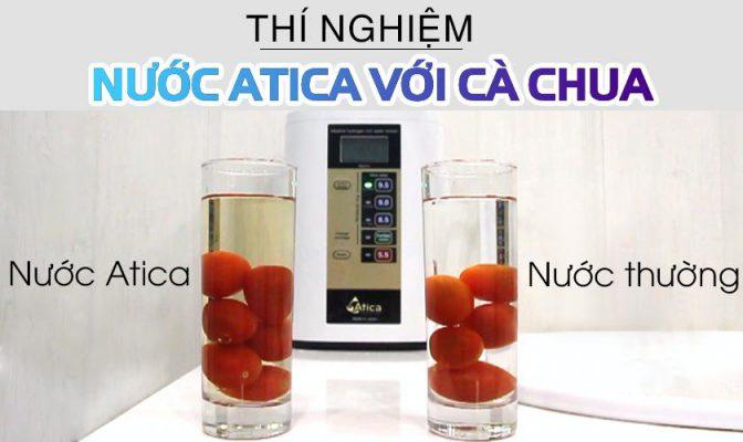 Lợi ích nước Atica trong việc loại bỏ các chất bảo quản thực phẩm