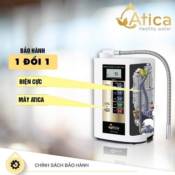 Máy ion kiềm điện phân 2 lần Atica