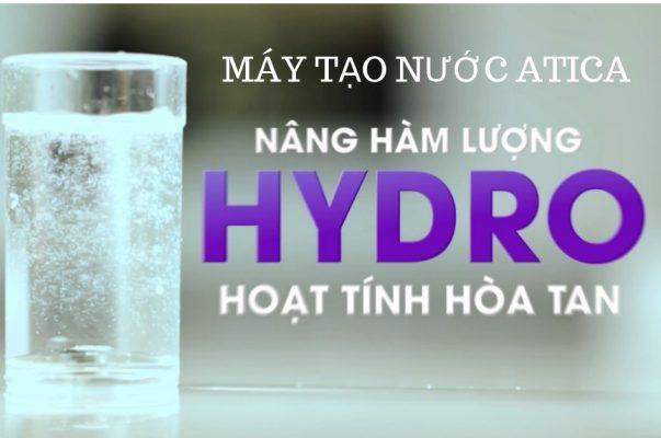 Máy tạo nước ion kiềm giàu hydro Atica