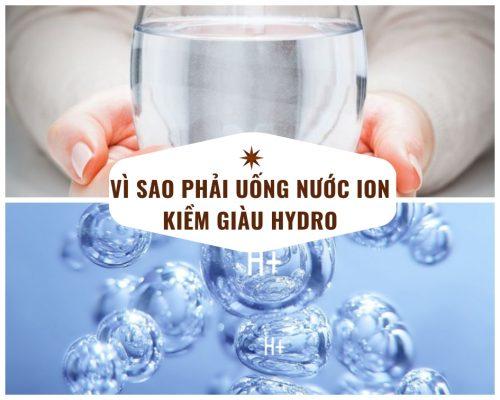 ion kiềm giàu hydro?