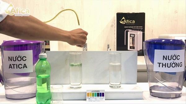 Nước Atica giải rượu nhanh chóng