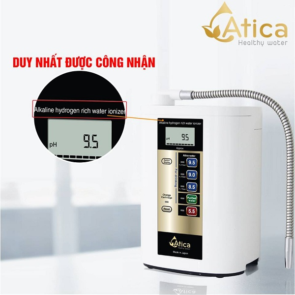 Chân dung máy Atica