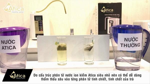 Nước Atica thẩm thấu nhanh