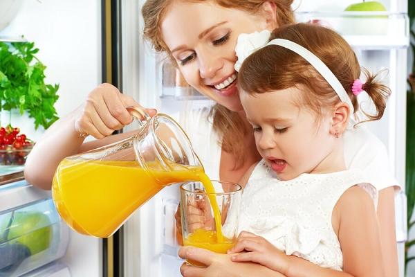 Thời điểm uống nước cam