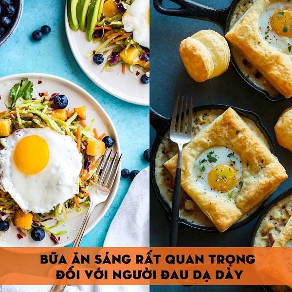 Ăn sáng với trứng ốp la