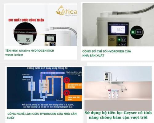 Hitachi Maxell sở hữu công nghệ sản xuất máy lọc nước ion kiềm giàu hydro