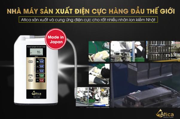 Atica - Nhà máy sản xuất điện cực số 1 thế giới